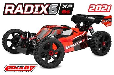 Team Corally RADIX XP 6S 1/8 RTR - Brushless Power 6S