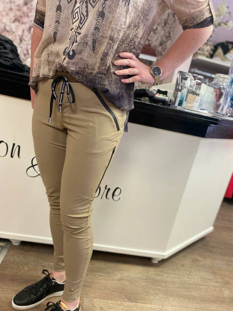 Broek - My Pashion - Taupe