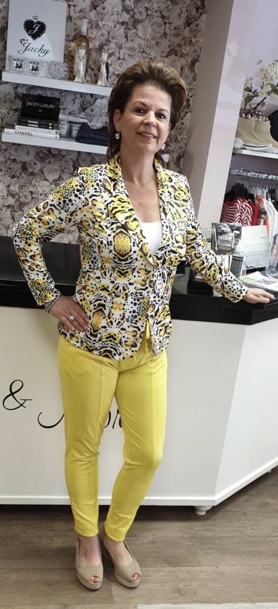 Broek - Angelle Milan - Yellow