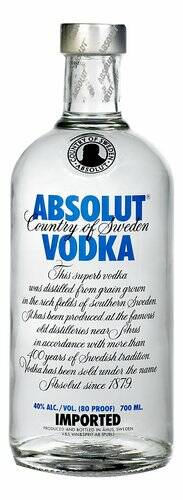 Absolut Vodka 40% 70cl
