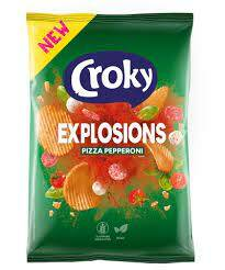 NEW! Croky Explosions Pizza Pepperoni