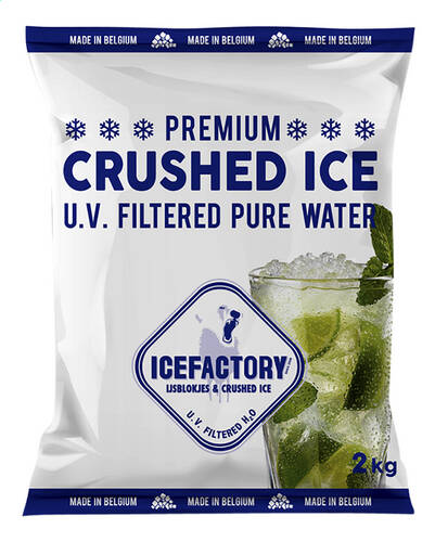 Ice Factory crushed ice 2kg