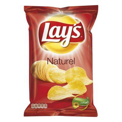 Lay's Natural Zout 225gr