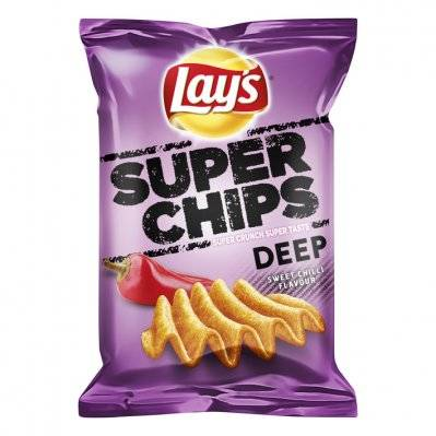 Lay's Superchips Sweet Chilli Flavour 147gr