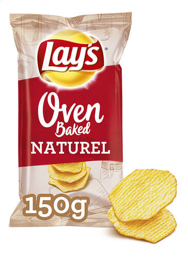 Lay's Oven Bakes Chips Natuur 150gr