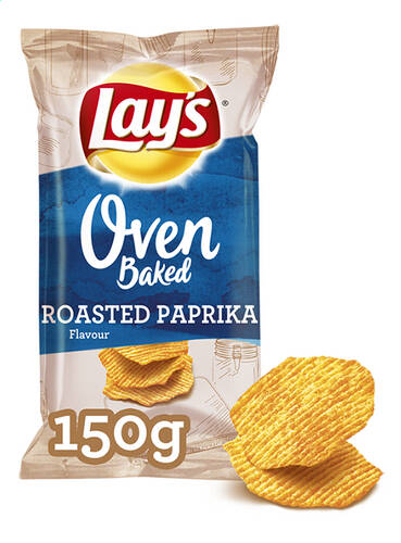 Lay's Oven Baked Roasted Paprika 150gr