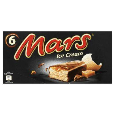 Mars Ice Cream 1st