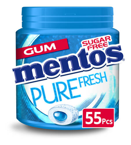 Mentos Pure Fresh kauwgom 55Pcs