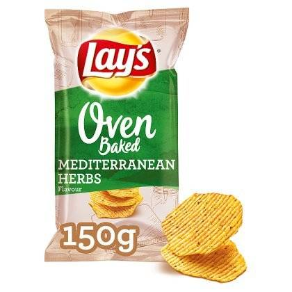 Lay's Oven Baked Medit Herbs 150gr