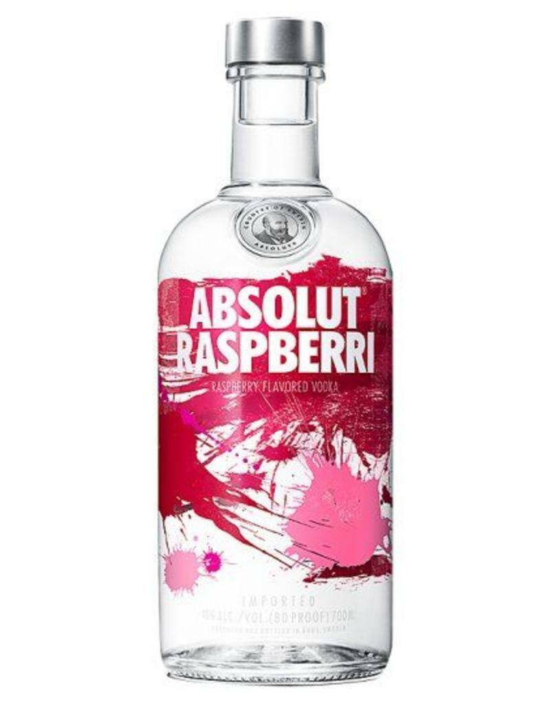 Absolut Raspberri Vodka 70cl 40%vol