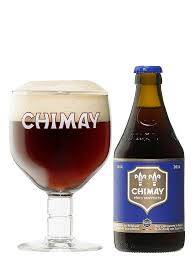 Chimay Blauw Trappisbier Bruin 33cl