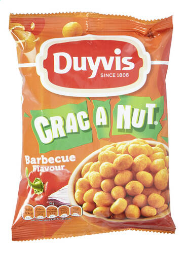 Duyvis Crac A Nut BBQ 200gr