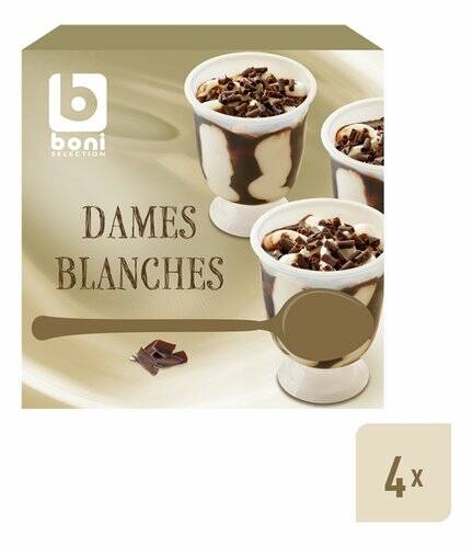 Dame Blanche cups 4x 135ml