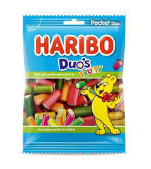 Haribo Duo's Fruity 200gr