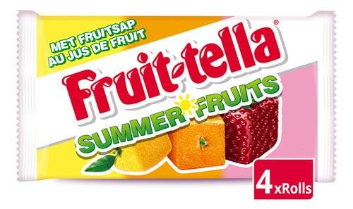 Fruit-tella Summer fruits 4 x 41gr