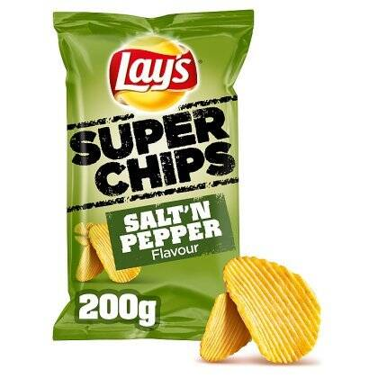 Lay's Salt'n Pepper 250gr