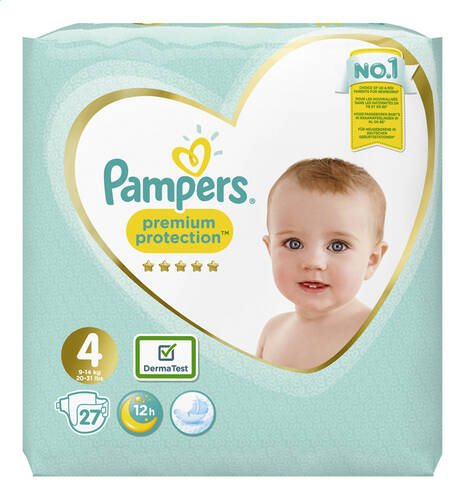 Pampers Premium Protection NR4  9-14kg