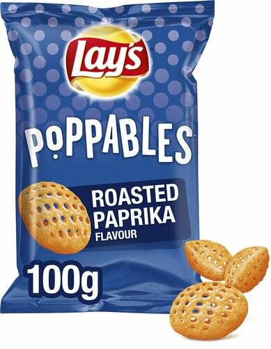 Lay's Poppables Roasted Paprika 100gr
