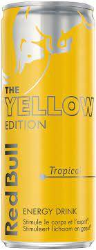 Red Bull The Yellow Edition Tropical 25cl