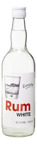 Everyday White Rum 70cl
