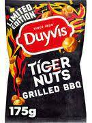 Duyvis Tiger Nuts Grilled BBQ Flavour 175gr