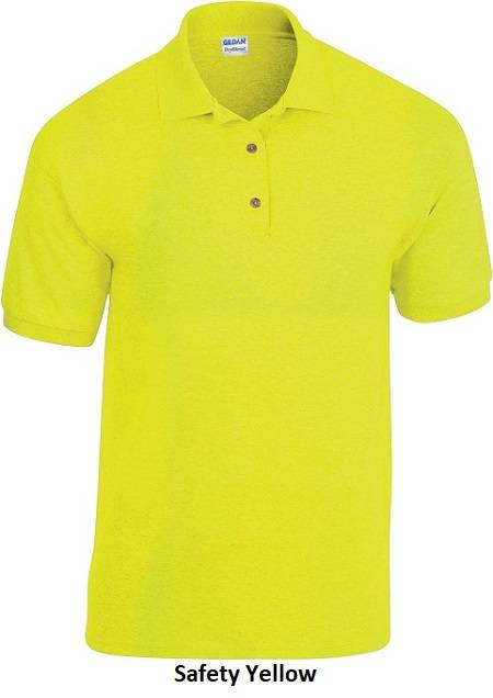 Polo's unisex Safety Yellow