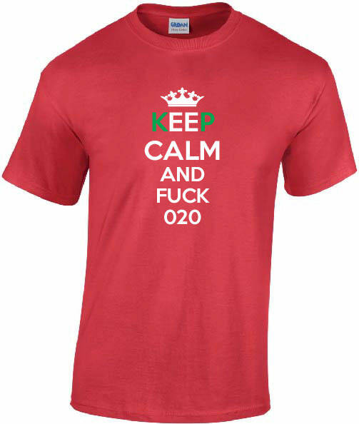 Shirt Keep Calm 020