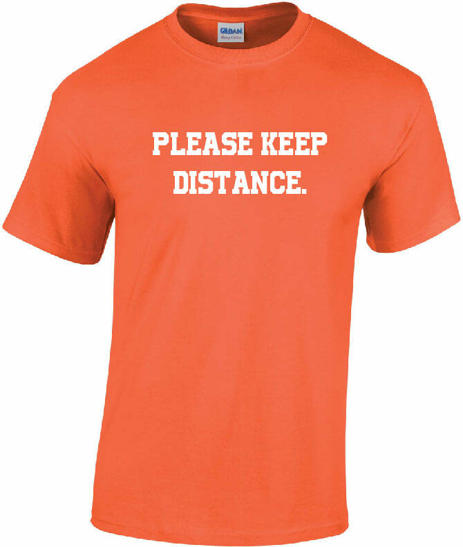 Please keep distance.