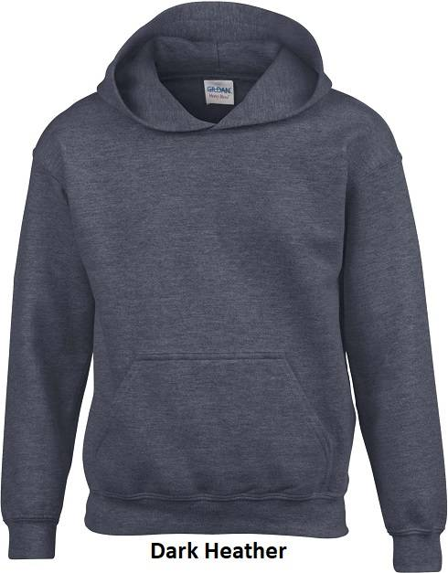 Hooded Dark Heather