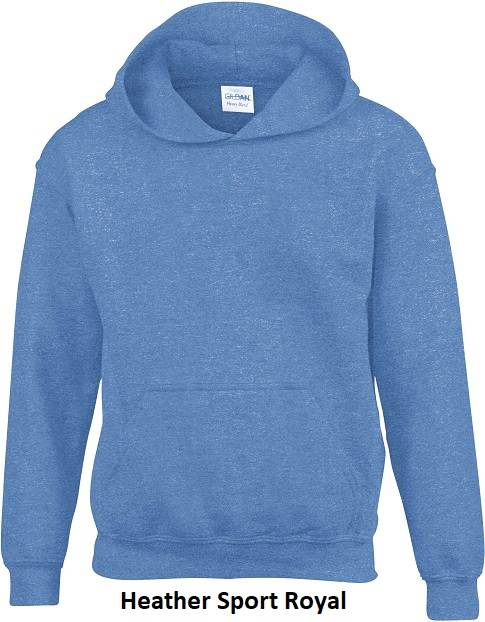 Hooded Heather Sport Royal