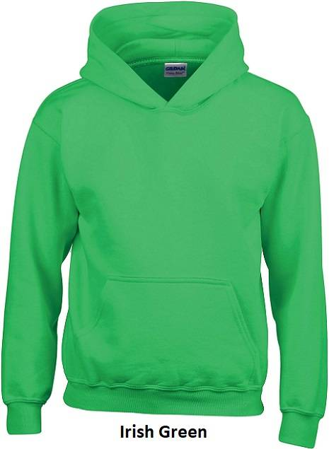 Hooded Irish Green