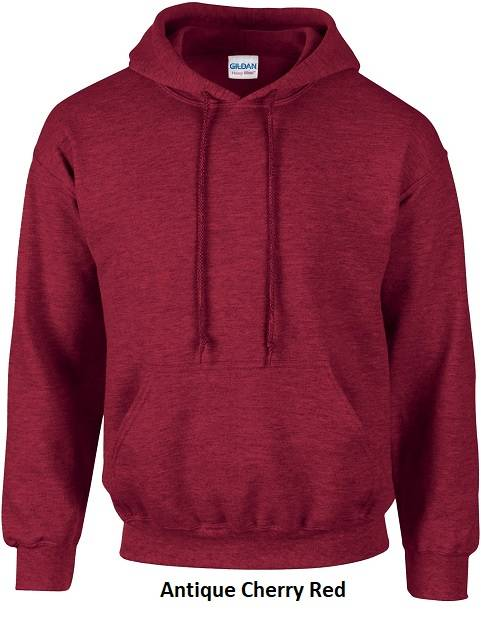 Hooded Antique Cherry Red