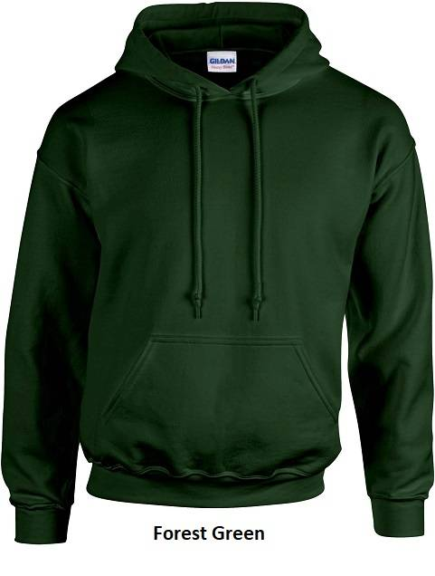 Hooded Forest Green
