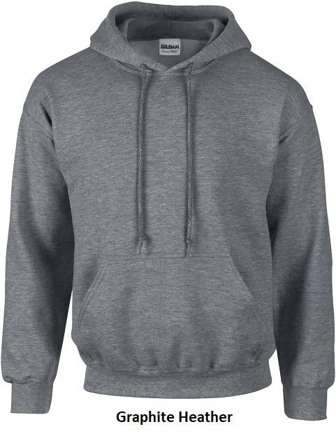 Hooded Graphite Heather