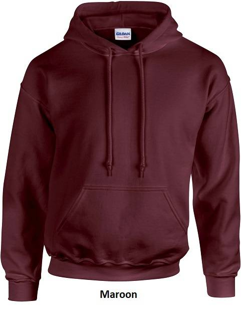 Hooded Maroon