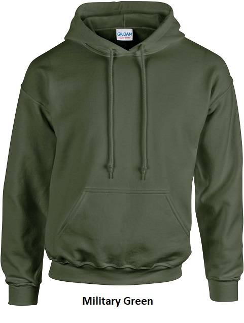 Hooded Military Green