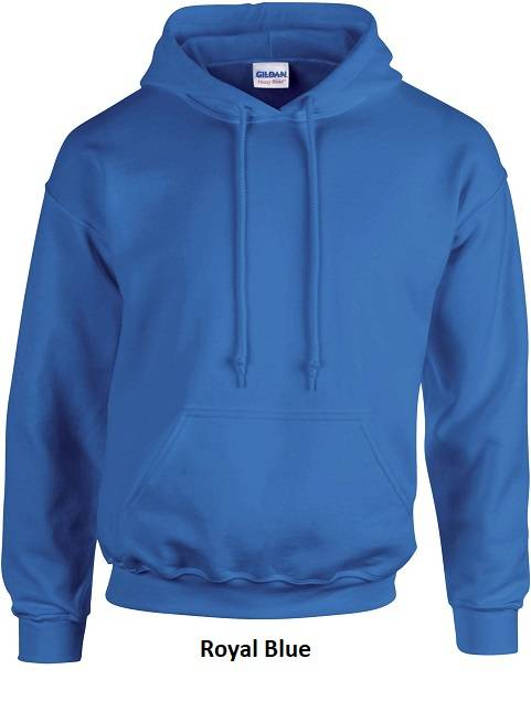 Hooded Royal Blue