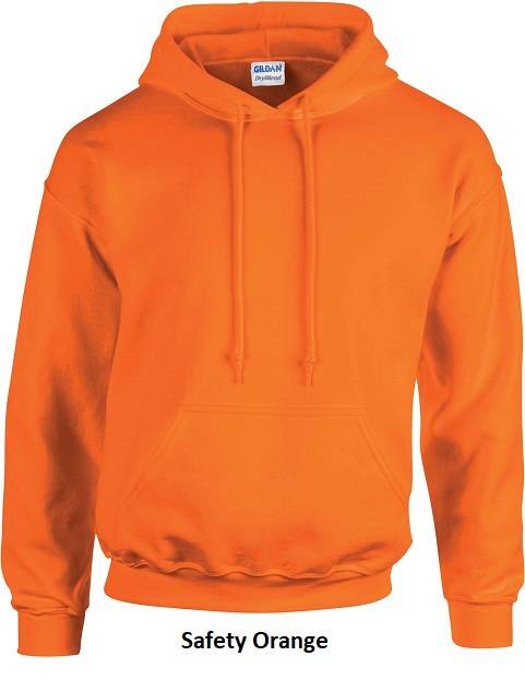 Hooded Safety Orange
