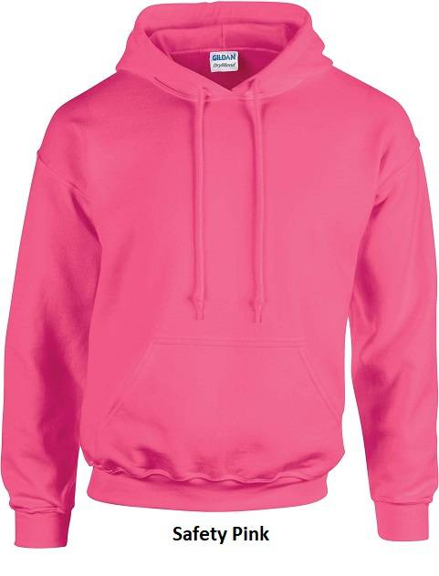 Hooded Safety Pink