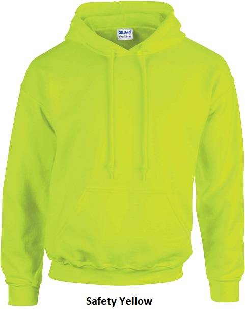 Hooded Safety Yellow