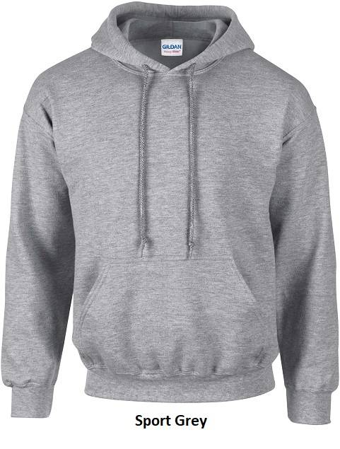 Hooded Sport Grey