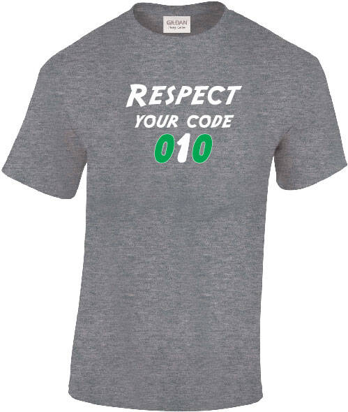 Shirt Respect Your Code