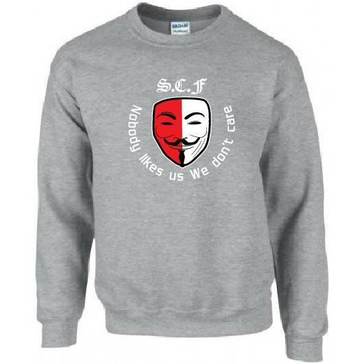 S.C.F Mask  Nobody like.s us we don't care
