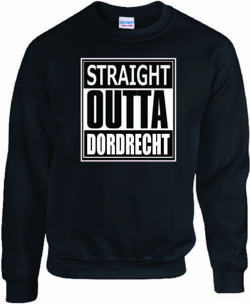 Sweate Straight outta Dordrecht