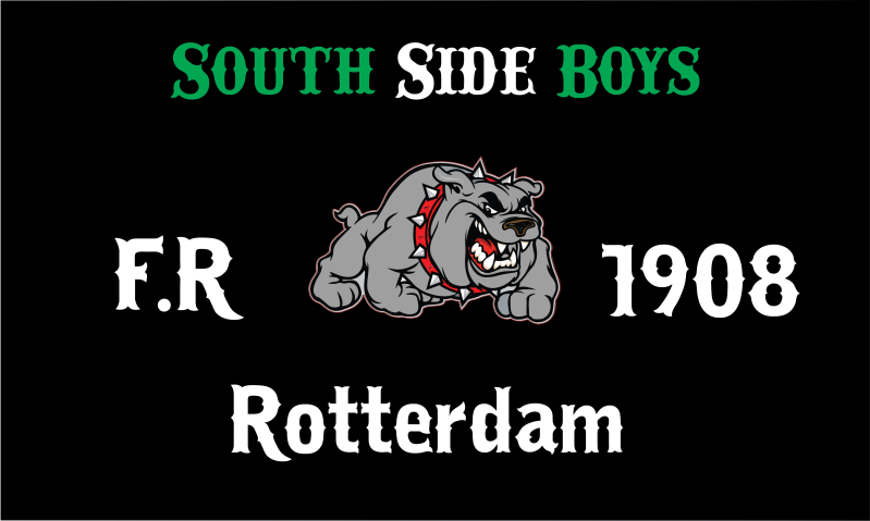 Vlag South Side Boys F.R 1908