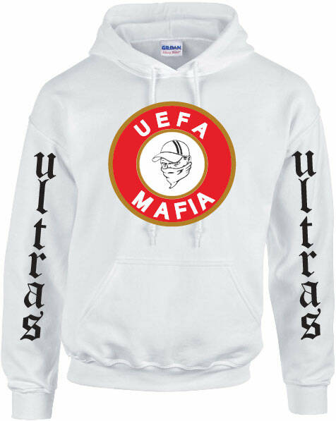 Hooded  Uefa Mafia.