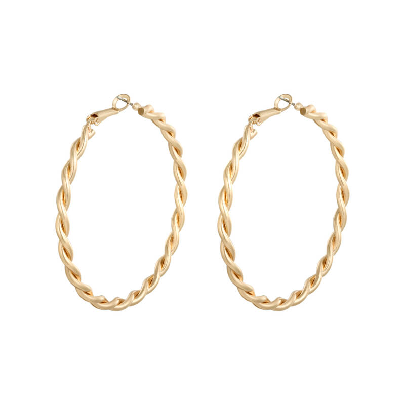 EARRINGS - CREOLE HOOPS ISLA