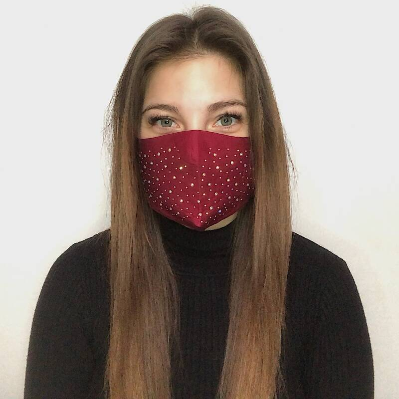 MOUTHMASK - STRASS RED