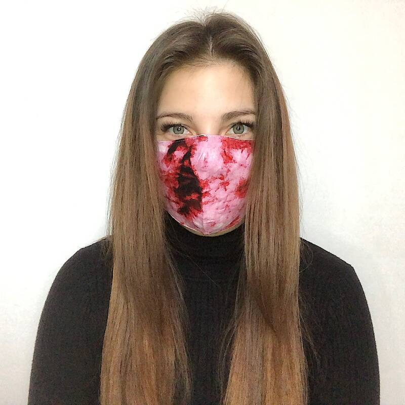 MOUTHMASK - MARBLE PINK
