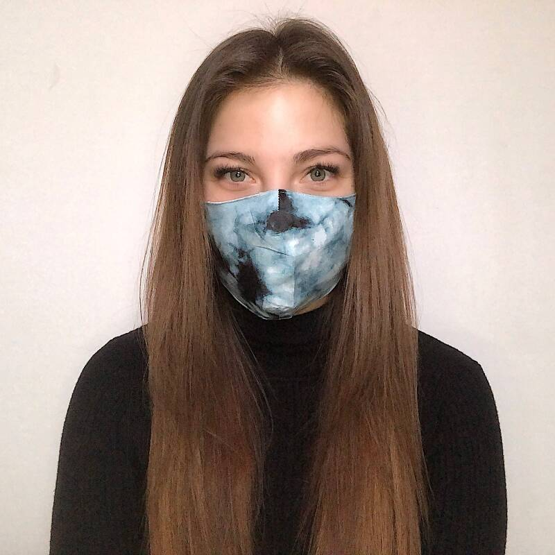 MOUTHMASK - MARBLE BLUE